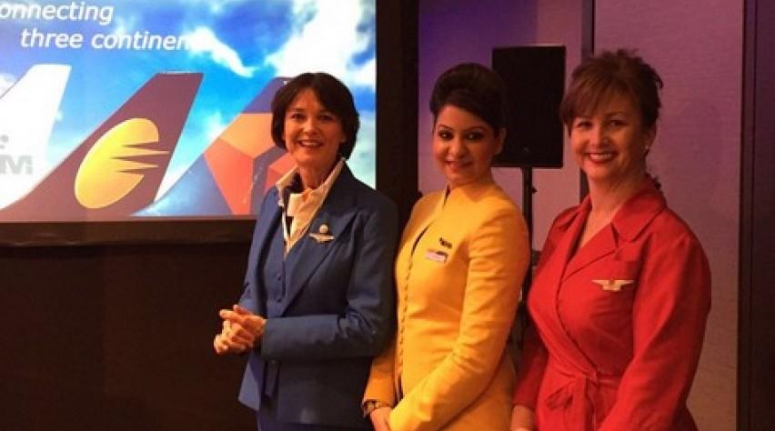 Jet Airways KLM Delta cooperation