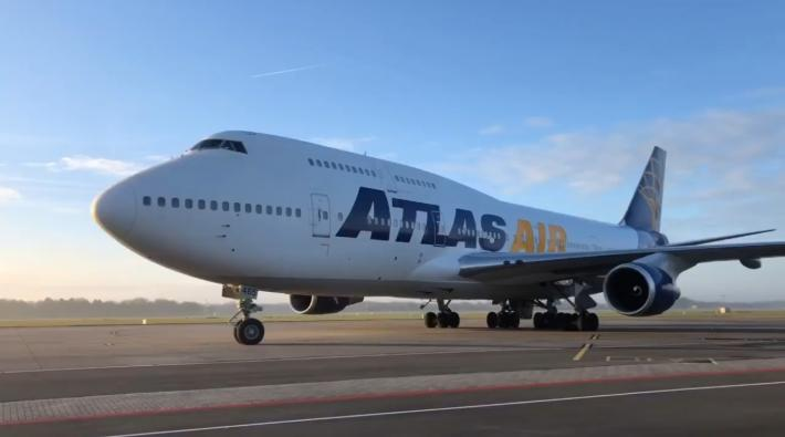 Atlas Air Boeing 747