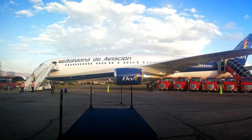 BoA Boeing 767
