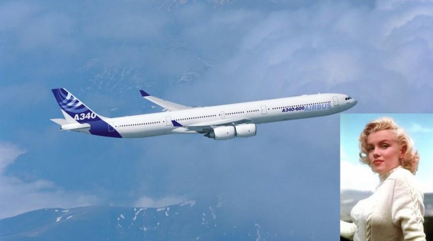 Airbus A340-600 Marilyn Monroe