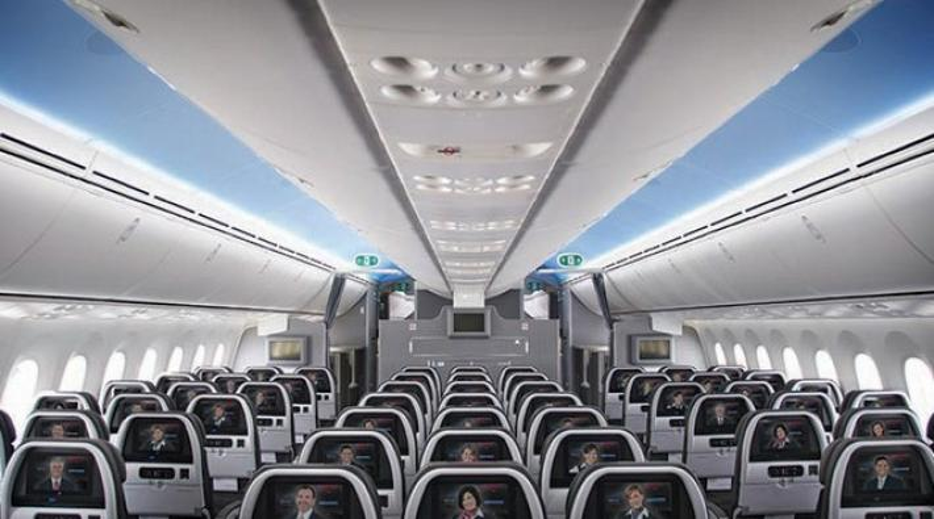 boeing 787, american, cabine, dreamliner