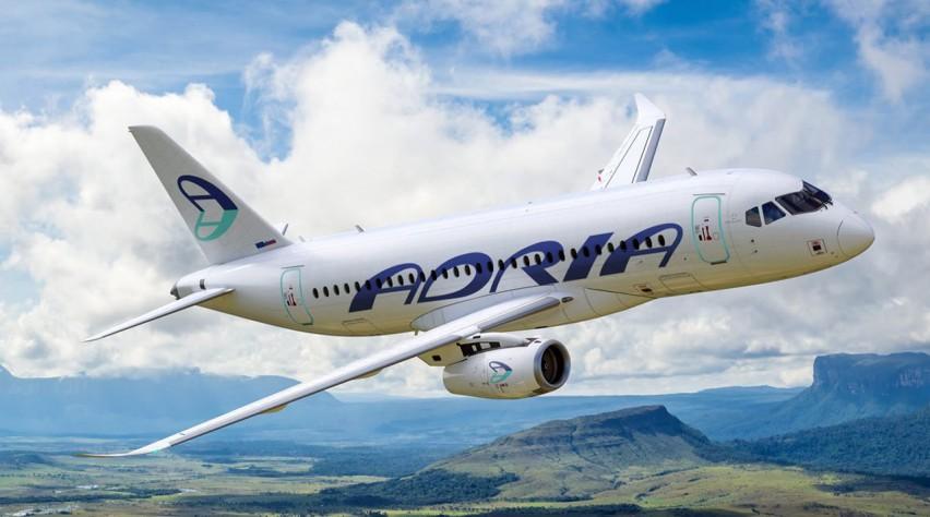 Adria Airways Sukhoi Superjet