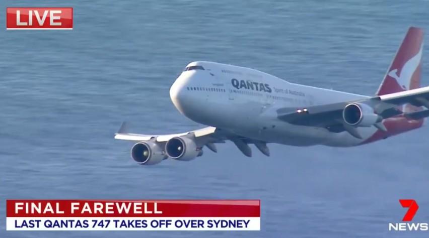 Qantas 747 laatste vlucht