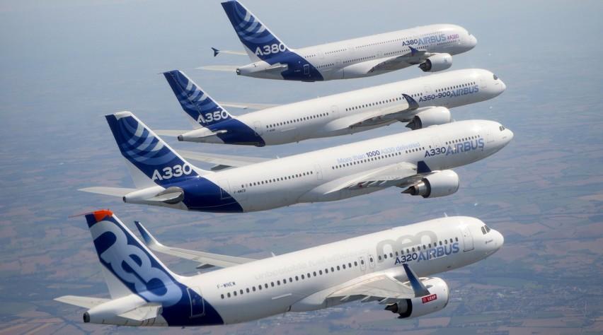 Airbus formatievlucht