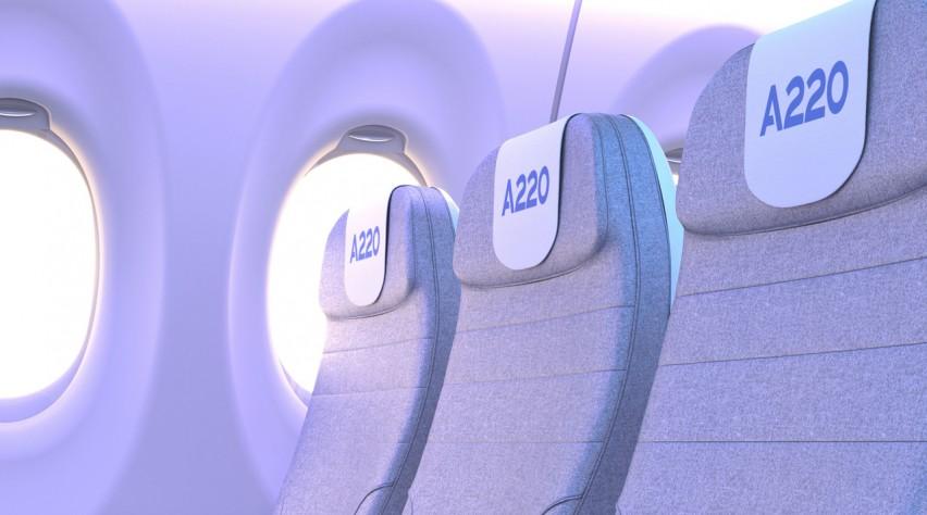Airbus A220 stoel