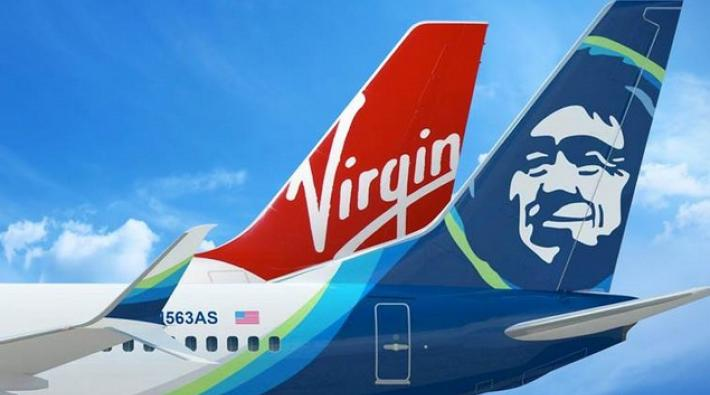 alaska airlines, virgin america, fusie