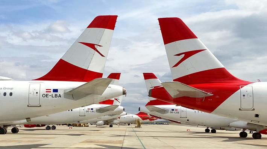Austrian-vliegtuigen