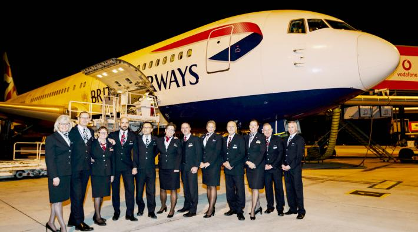 British Airways afscheid 767