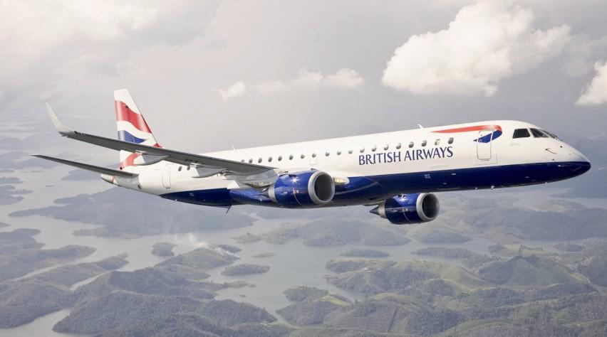 British Airways Embraer 190