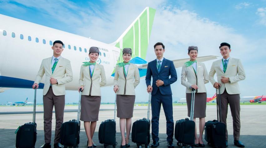 Bamboo Airways crew
