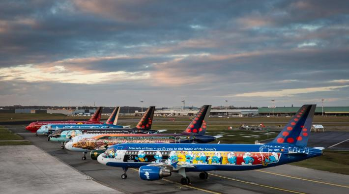 Brussels Airlines Belgian Icons