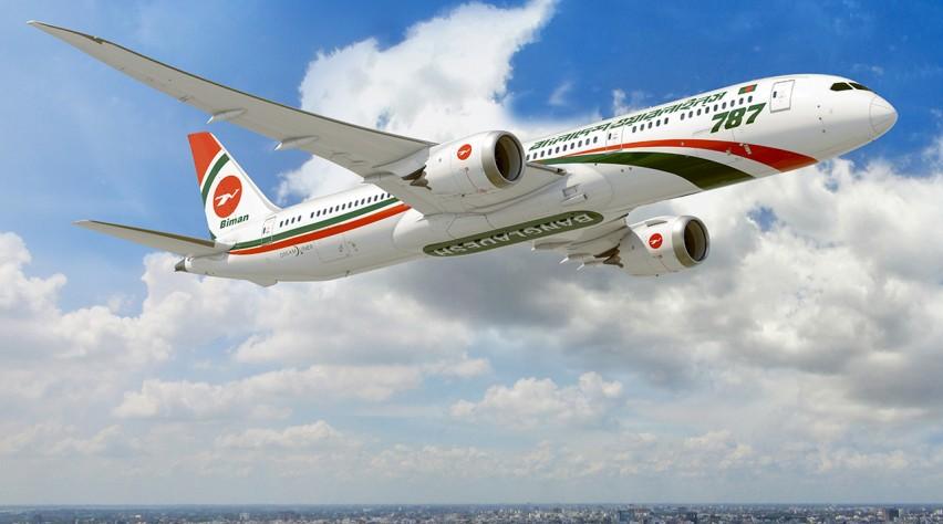 Biman Bangladesh Airlines Boeing 787-9