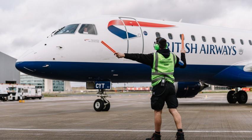 British Airways Embraer
