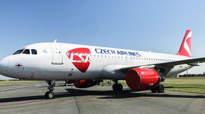 Czech Airlines new slider