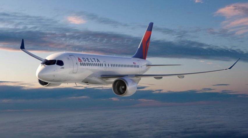 Delta Air Lines Bombardier CS100