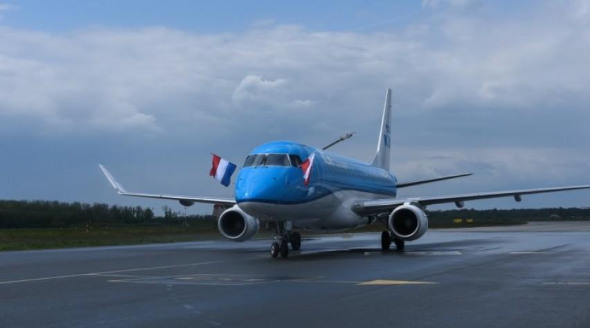 KLM E175 Wroclaw