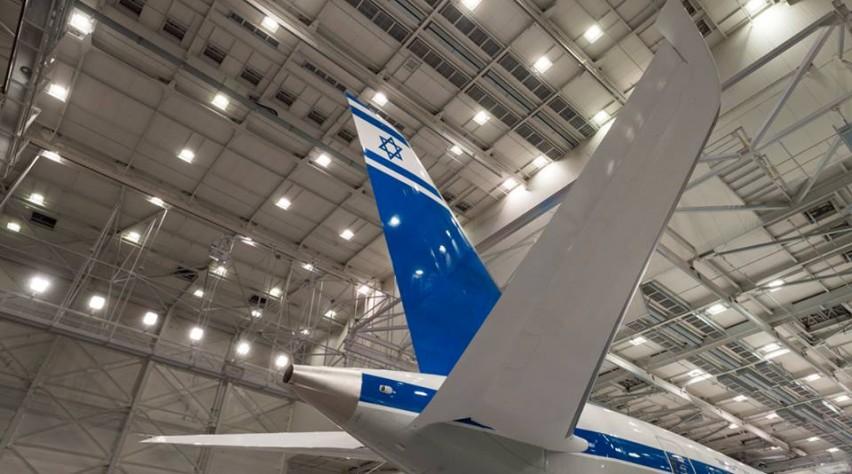 El Al retro 787