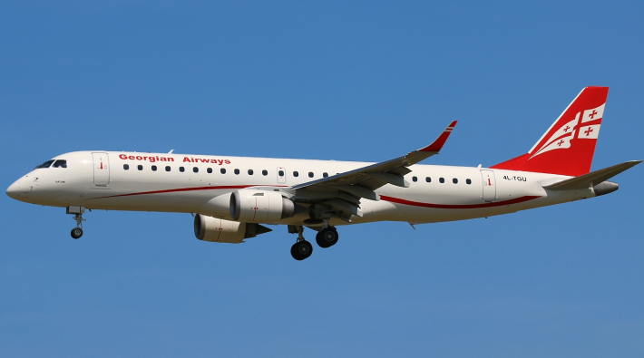 Embraer E190 Georgian Airways