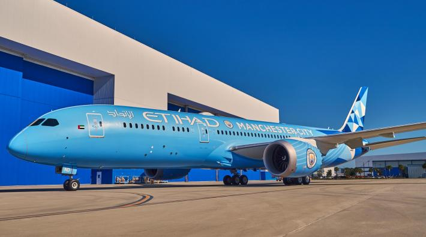 Etihad 787-9 Manchester City