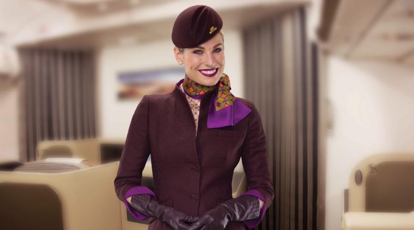 Etihad Airways crew