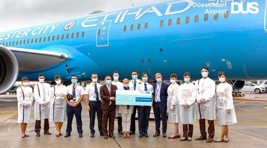 Etihad Airways 787