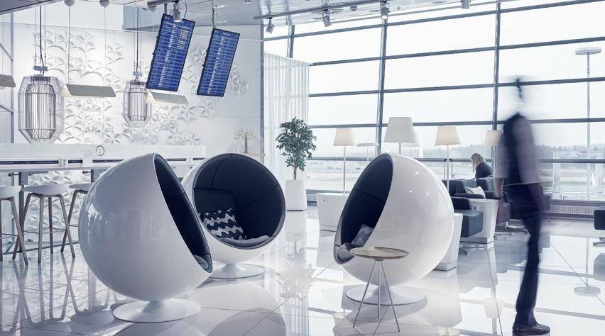Finnair Schengen lounge