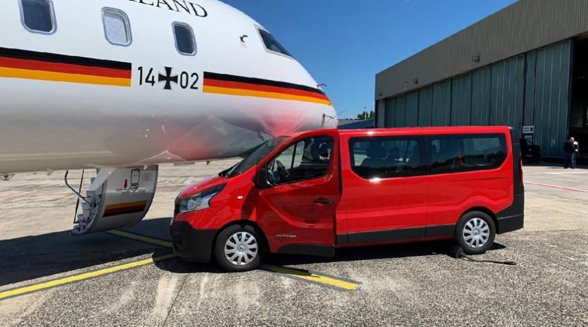 Duits regeringstoestel Bombardier Global 5000 incident