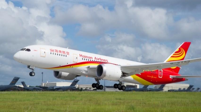 hainan, boeing, 787-8, dreamliner