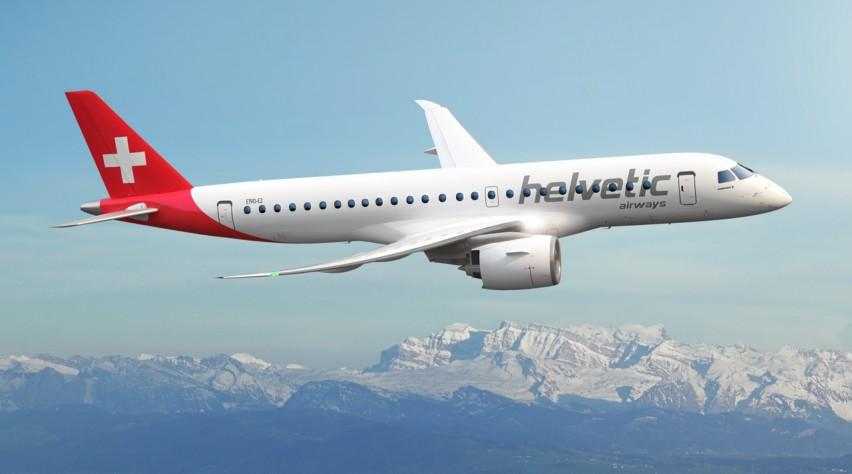 Helvetic Embraer 190-E2