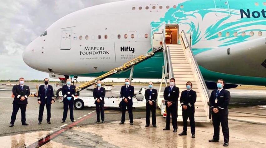HiFly A380 DomRep