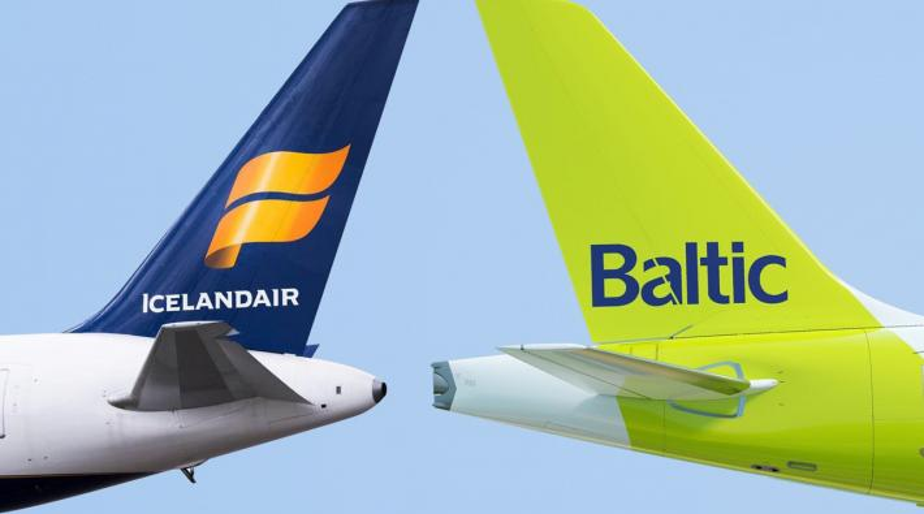 Icelandair airBaltic