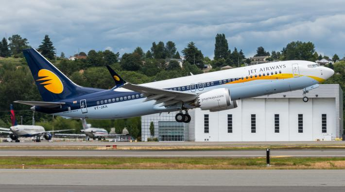 Jet Airways Boeing 737 MAX 8