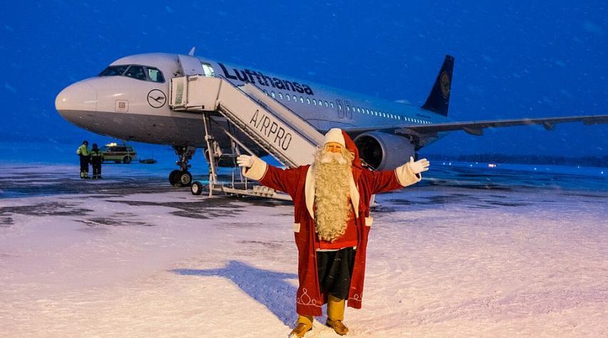 Lufthansa Kerstman