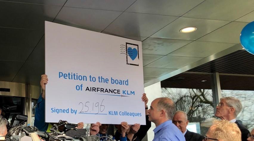 KLM steunbetuiging Elbers