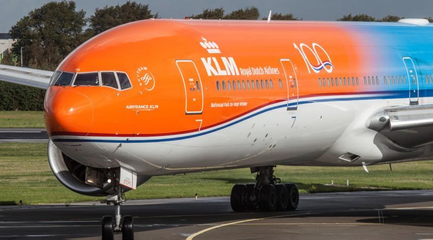 KLM Orange Pride