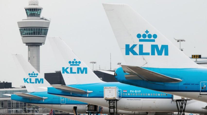 KLM Boeing Schiphol