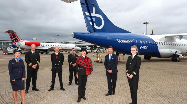 Loganair Blue Islands