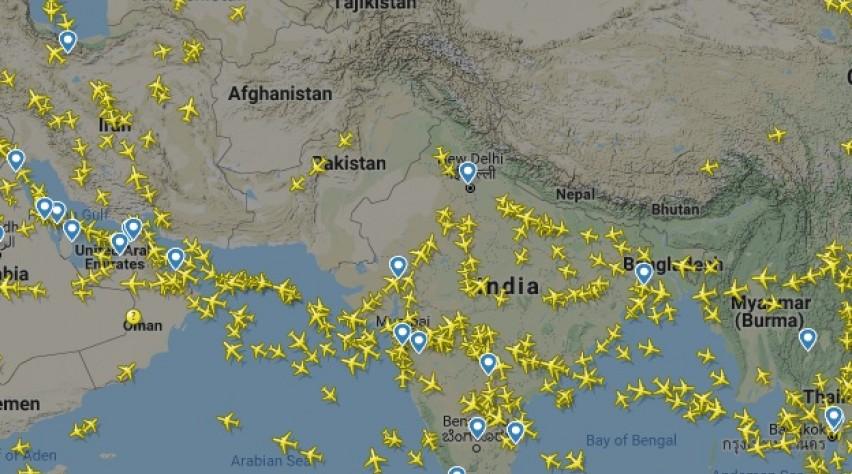 Luchtruim Pakistan
