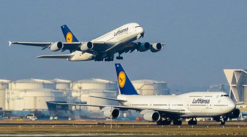 Lufthansa 747 A380