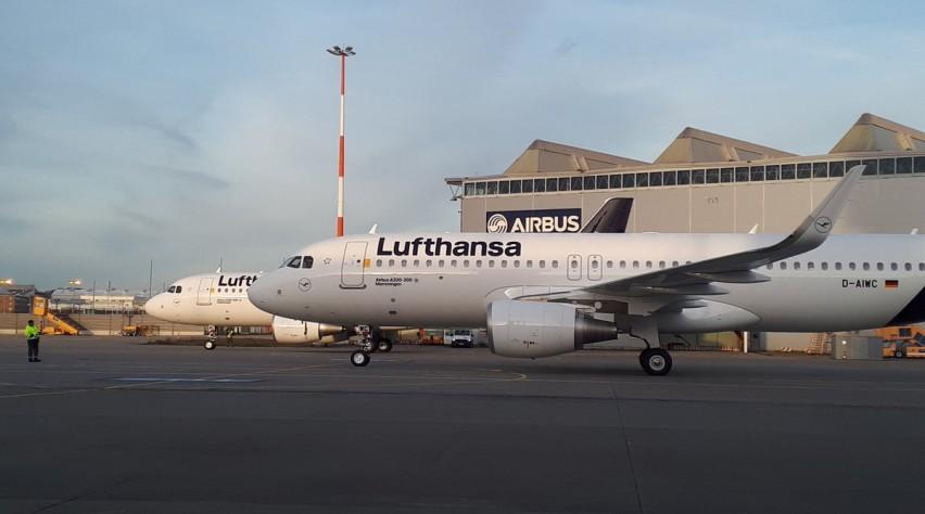 Lufthansa A320s