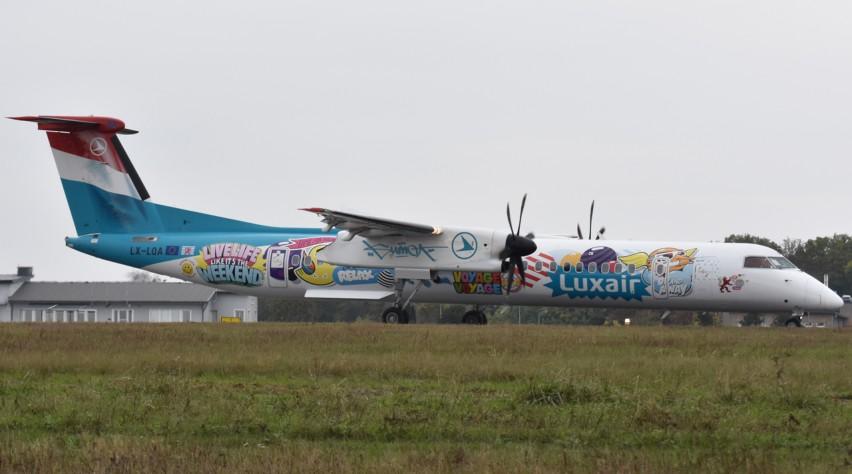 Luxair Q400 Sumo