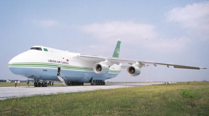 Libyan Air Cargo Antonov 124