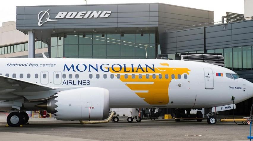 MIAT Mongolian 737 MAX