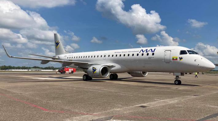 Myanmar Airways International Embraer 190