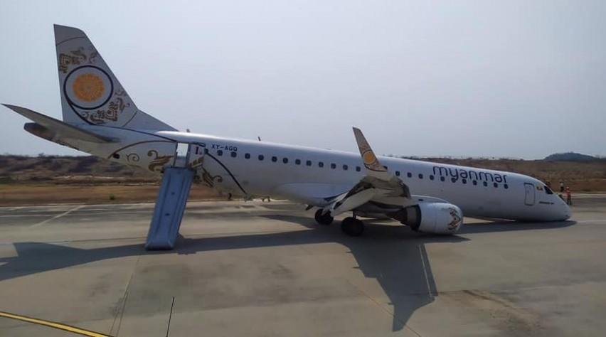 Neuslanding Myanmar Airlines