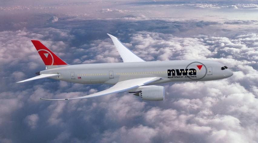 Northwest Airlines Boeing 787 Dreamliner