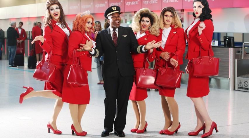 Pride Flight Virgin Atlantic