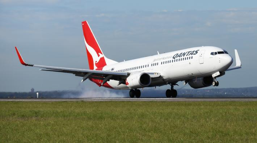 Qantas 737