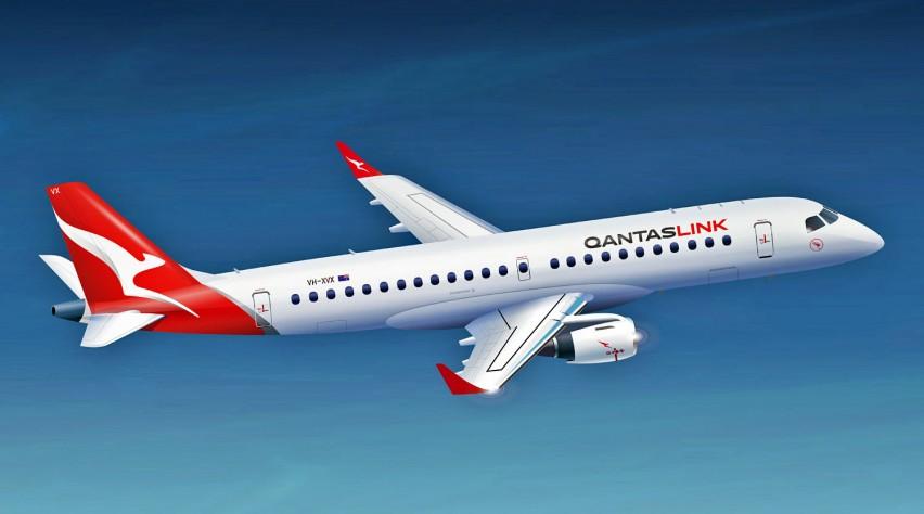 Qantas Embraer 190