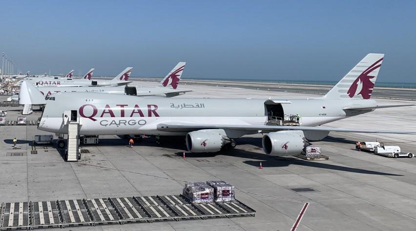 Qatar Airways Cargo 747-8F